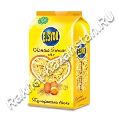 Лапша ELSYOR №9 яичная для супа