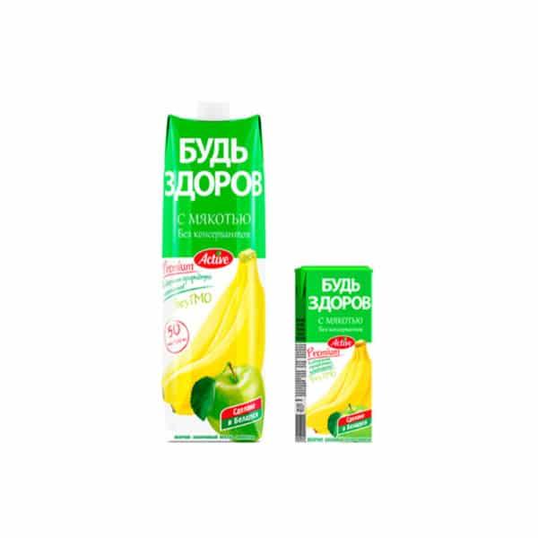 Нектар Яблочно-Банановый АВС