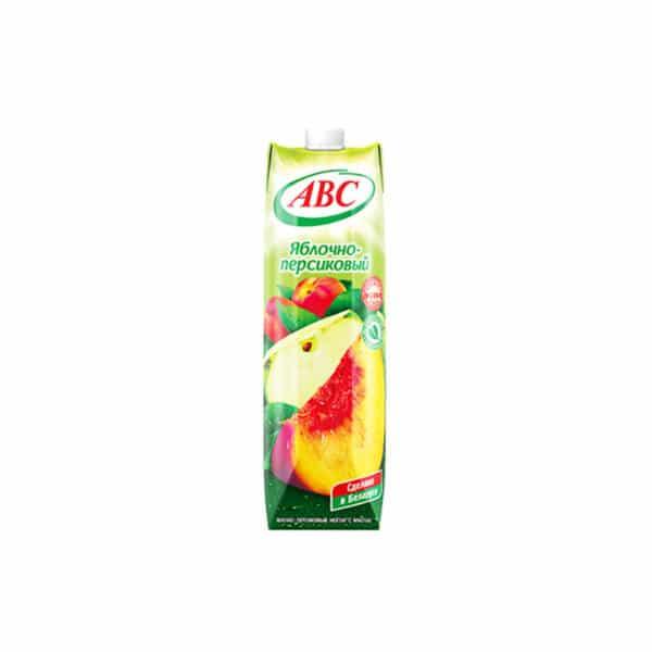 Нектар Яблочно-Персиковый АВС