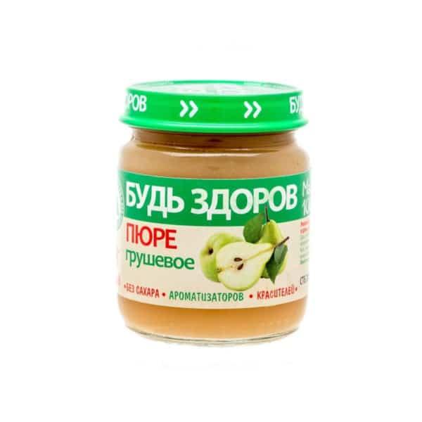 Пюре яблочно-грушевое АВС