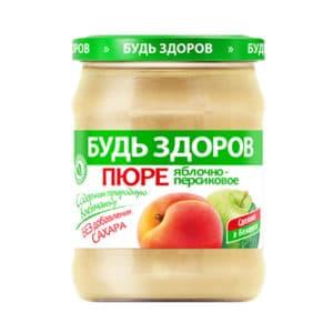 Пюре яблочно-персиковое АВС
