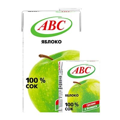 Сок Яблочный осв. АВС