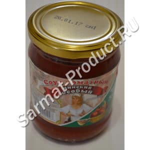 Соусы и кетчупы