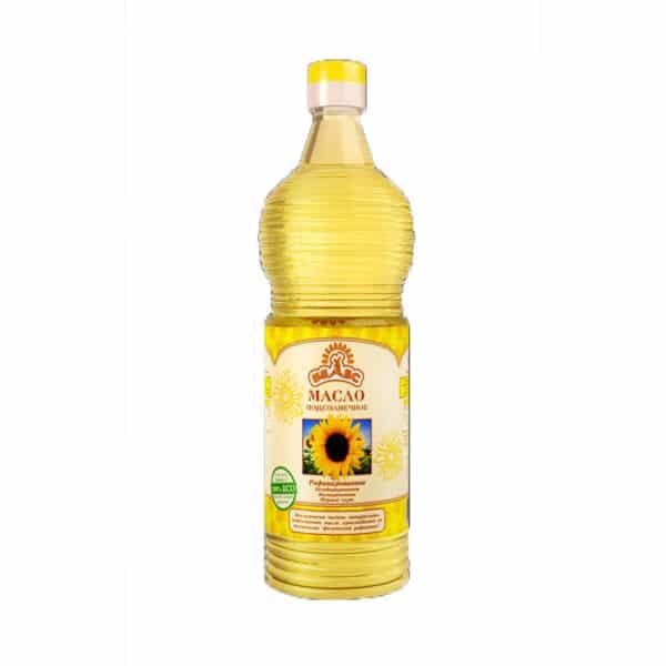 Подсолнечное масло Рафин