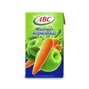 Нектар Яблочно-Морковный АВС