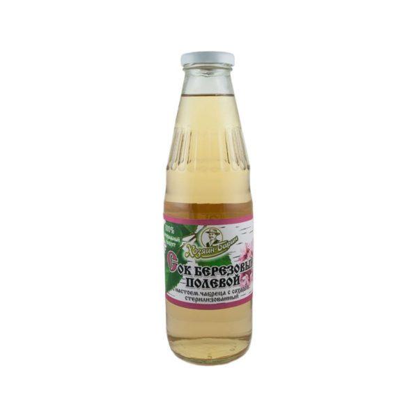 Сок березовый Свежесть с настоем зверобоя с сахаром