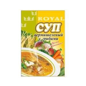 Суп вермишелевый с грибами RF