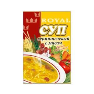 Суп вермишелевый с мясом RF