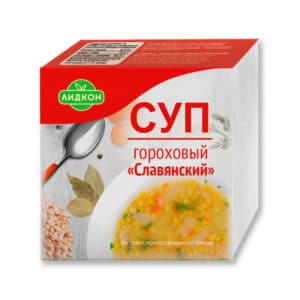 """Суп гороховый """"Славянский"""" (брикет)"""