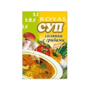 Суп солянка с грибами RF
