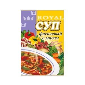 Суп фасолевый с мясом RF