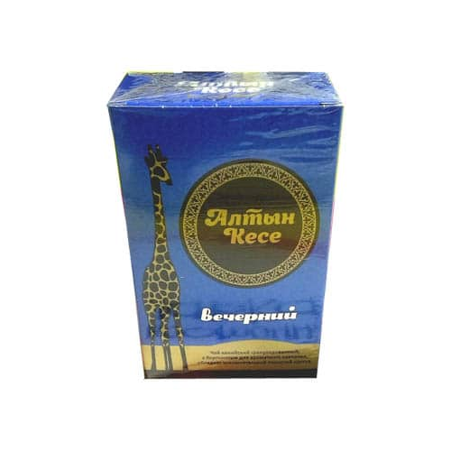 """Чай """"Алтын кесе"""" Вечерний с берг. Кения черный гран."""