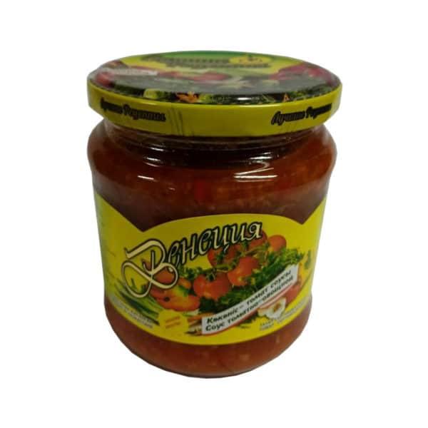 """Соус томатно-овощной """"Венеция"""" """"Лучшие рецепты"""""""