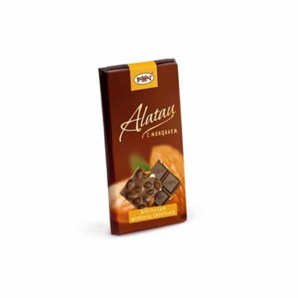 Шоколад Alatau с миндалем
