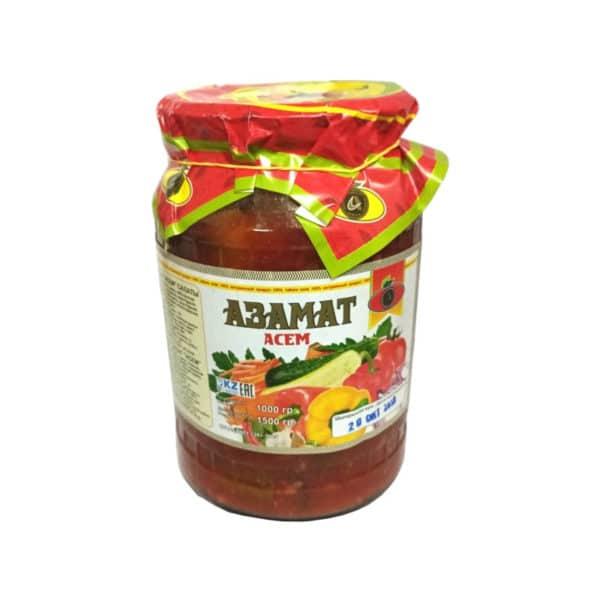 Салат  Азамат Асем