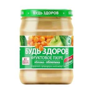 Пюре яблочно-облепиховое АВС