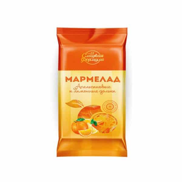 """Мармелад """"Апельсиновые и лимонные дольки"""""""