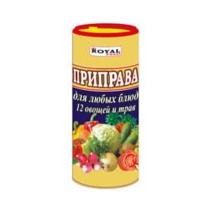 Приправа 12 овощей (туба)