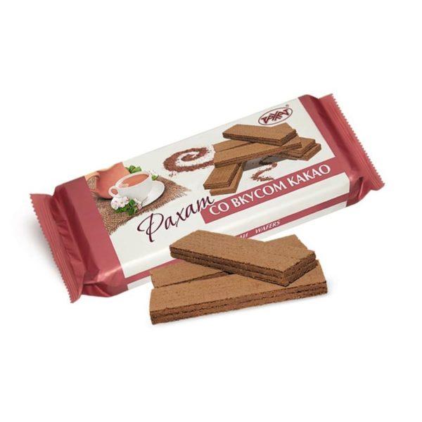 """Вафли """"Рахат"""" со вкусом какао"""