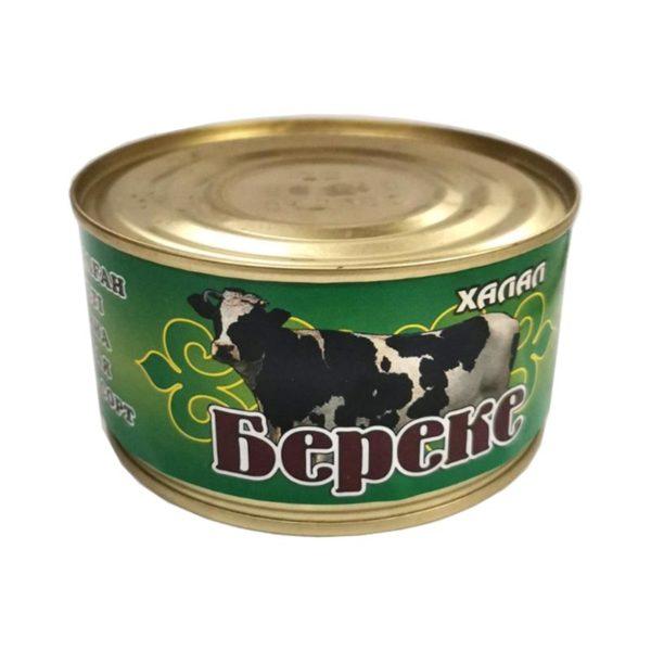 """Говядина тушеная  """"Береке"""" в/с"""
