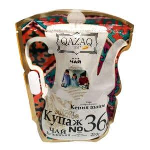 Чай QAZAQ SAY Кения (купаж №36) дой-пак