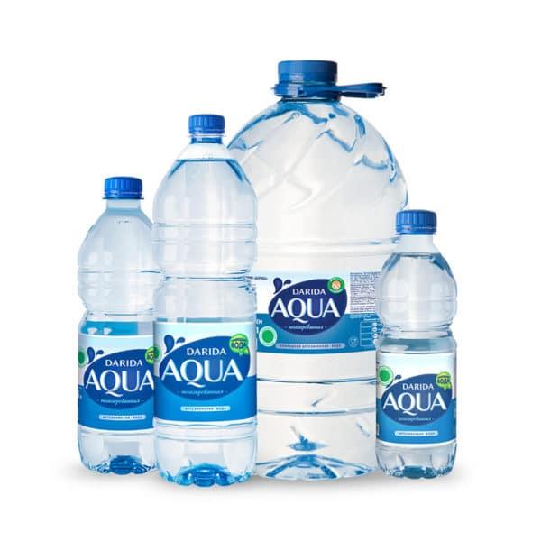"""Вода питьевая природная """"Дарида"""" негаз."""