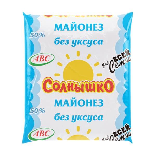 """Майонез """"Солнышко"""" АВС"""
